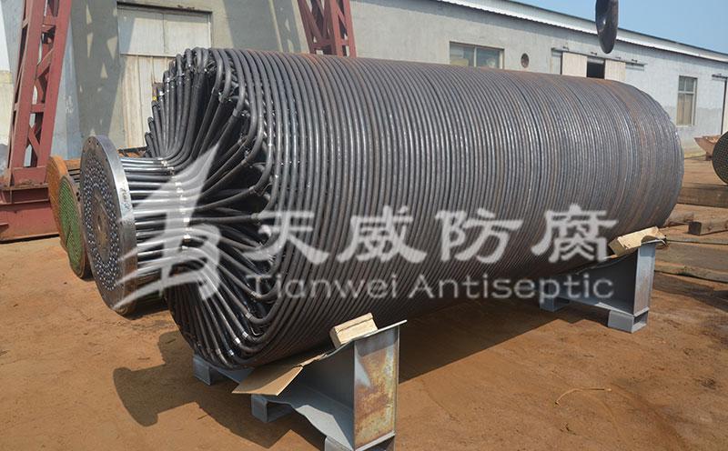 螺旋管式换热器管束防腐