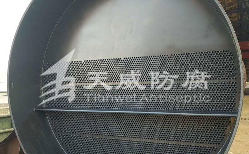 大型换热器设备防腐施工